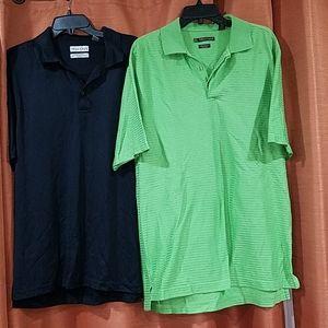 TEHAMA size L polo style tops